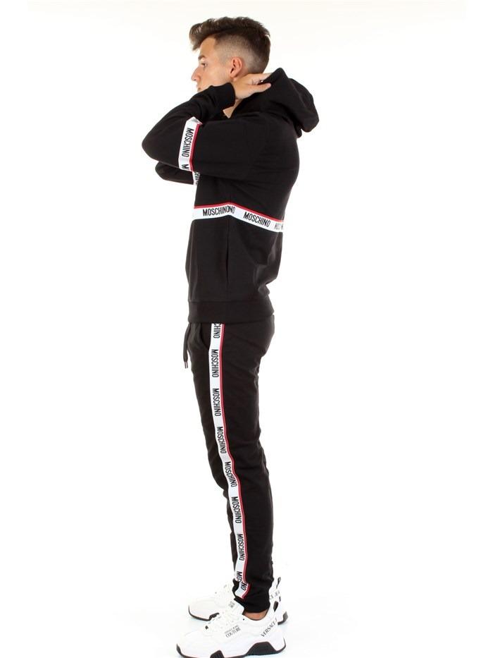 pantalone in jersey con bande laterali MOSCHINO   Pantaloni   4333 8104A0555
