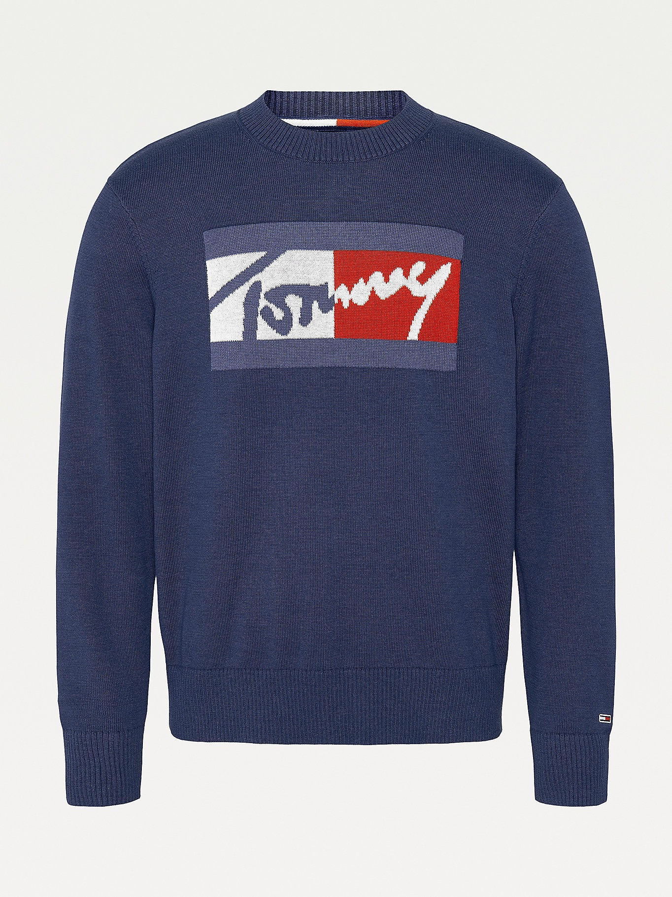 PULLOVER RELAXED FIT TOMMY JEANS | Maglie | DM0DM11365C87 TWILIGHT NAVY