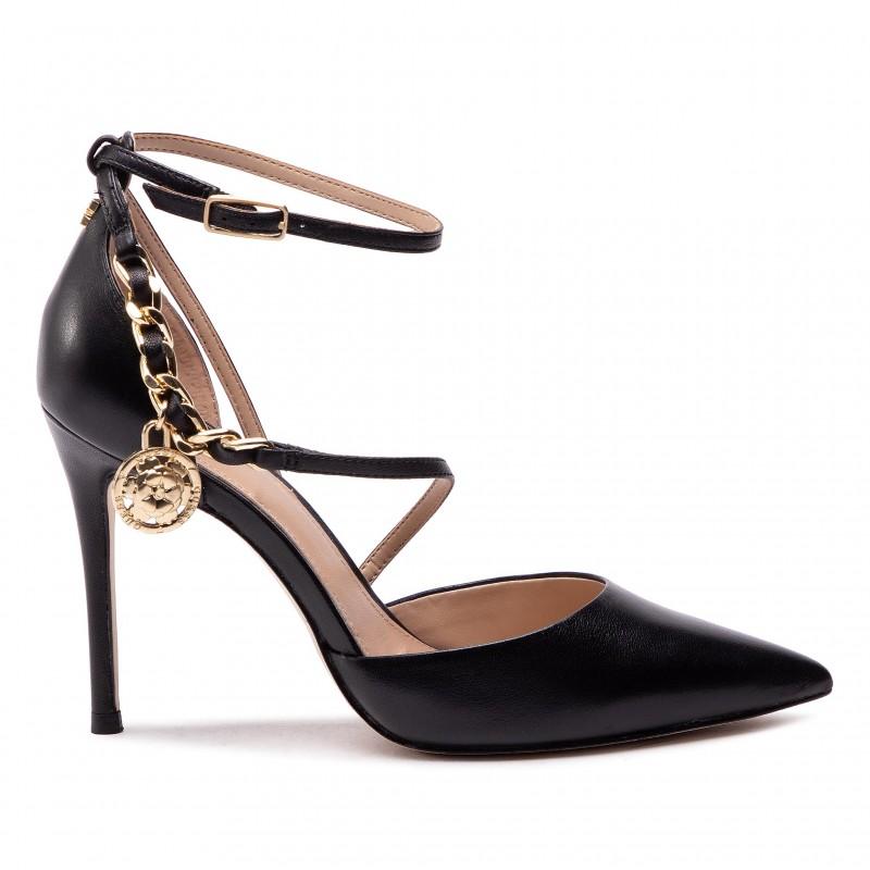 Stiletto Britee GUESS FOOTWEAR | Scarpe | FL5BRI LEA08BLACK