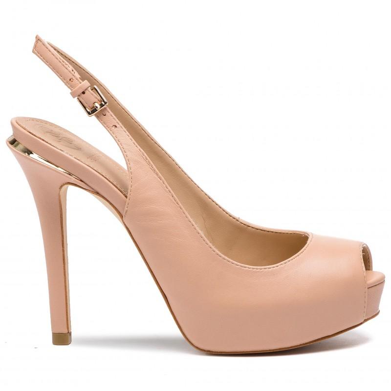 Sandalo Hartlie GUESS FOOTWEAR | Scarpe | FL6HRL LEA07NATU