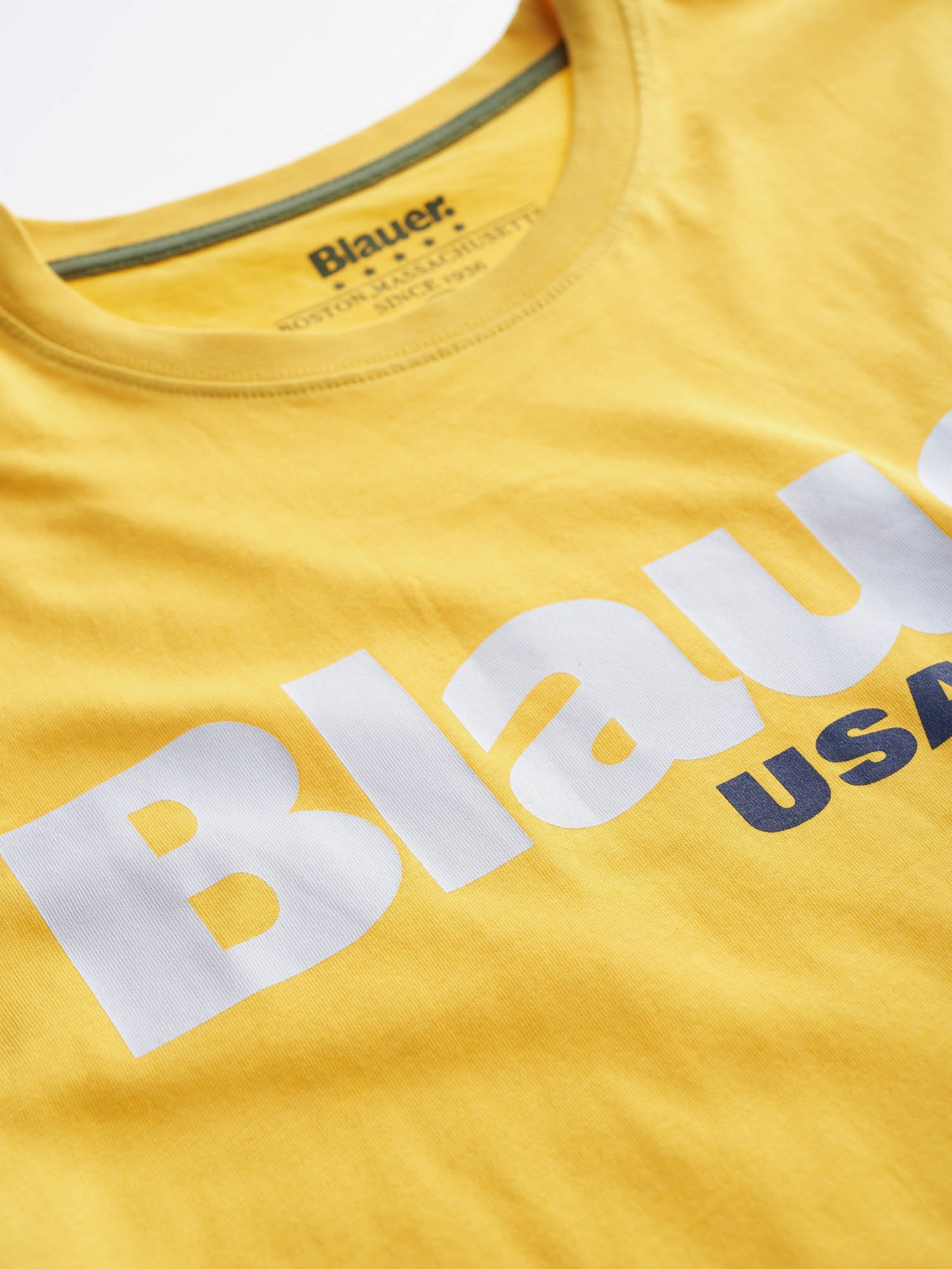 T-SHIRT BLAUER USA BLAUER | T-shirt | 20SBLUH02170 004547223 CANARINO