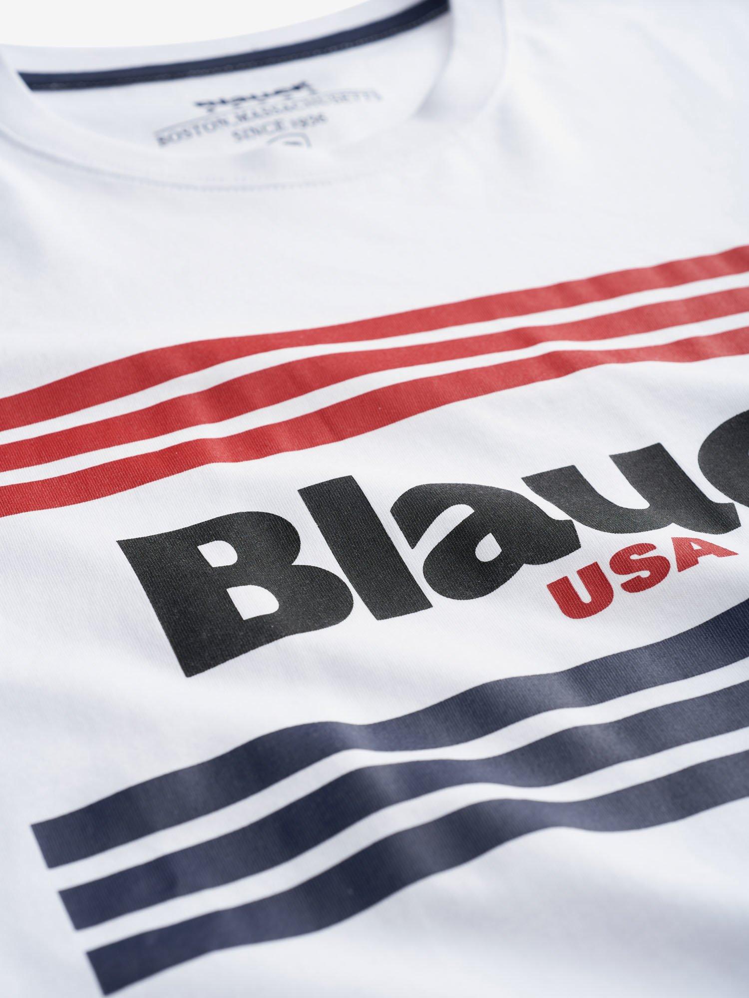 BLAUER      20SBLUH02178 004547100 BIANCO OTTICO