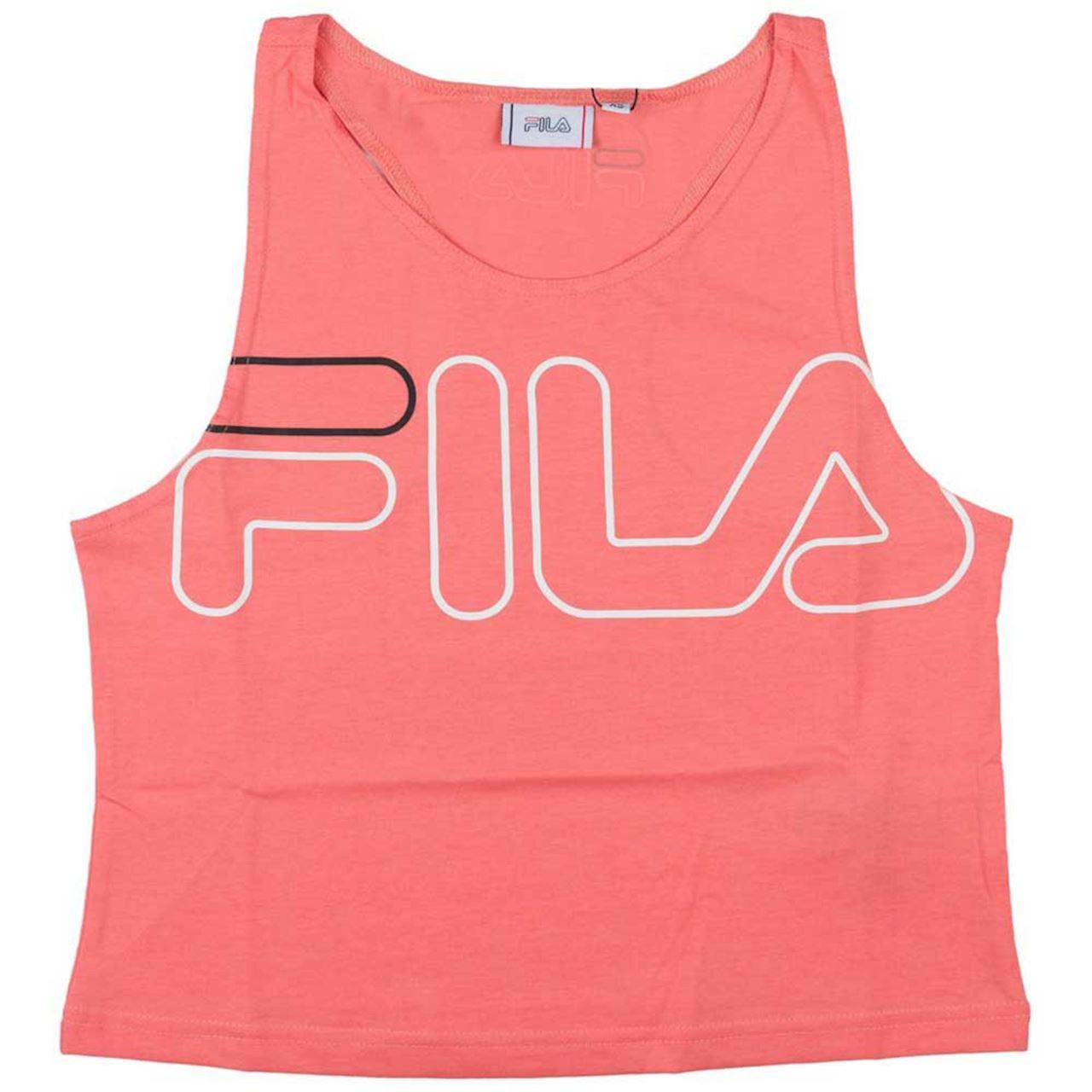 Top con logo FILA | Top | 683077A430 SHELL PINK