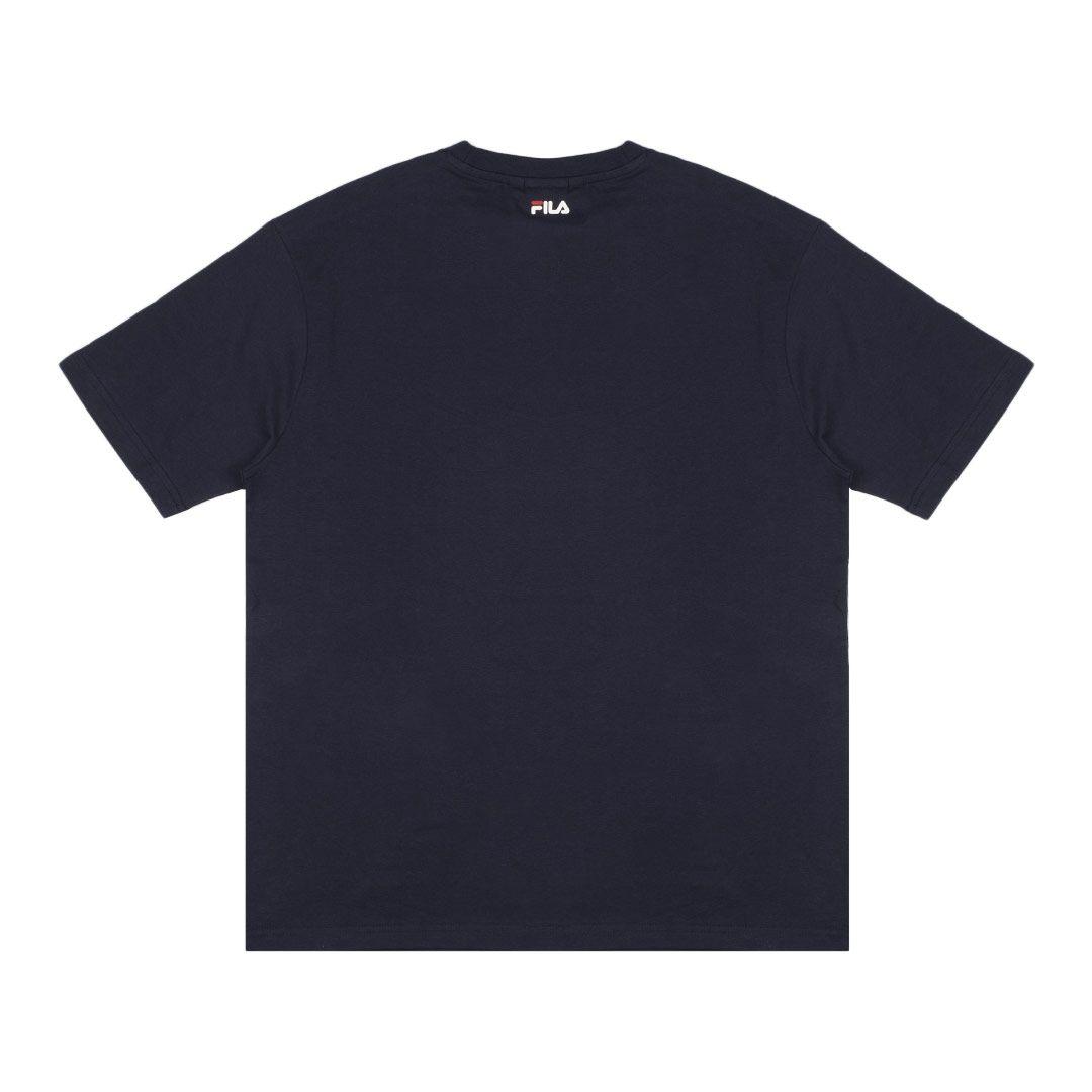 T-shirt con stampa FILA | T-shirt | 687475170 BLACK IRIS