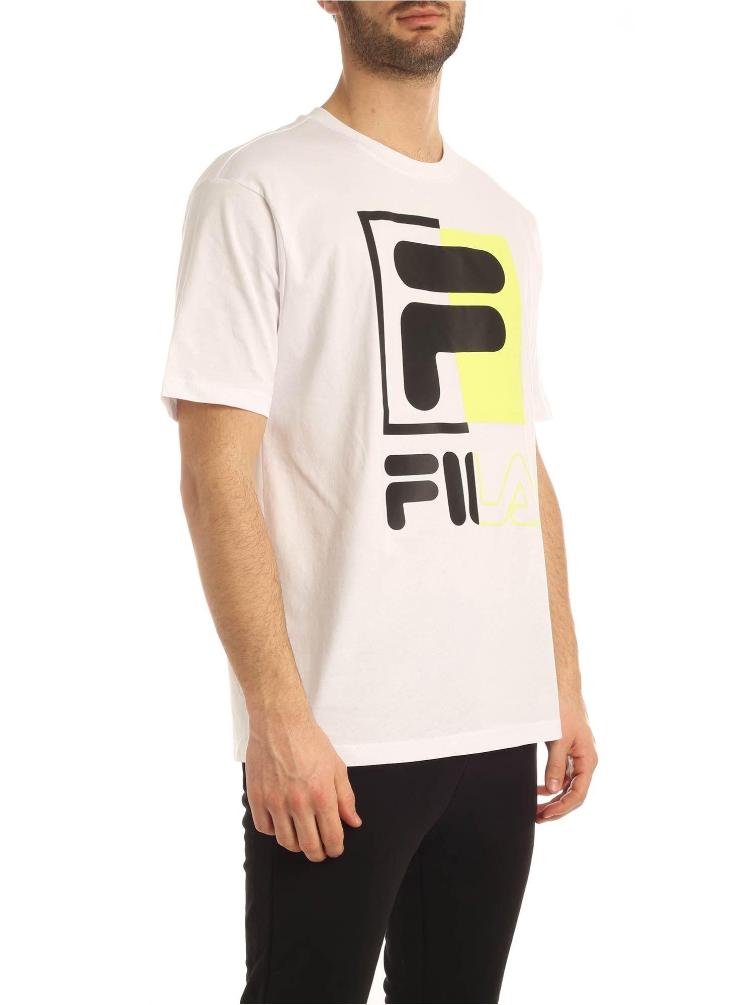 T-shirt con stampa FILA | T-shirt | 687475M67 BRIGHT WHITE