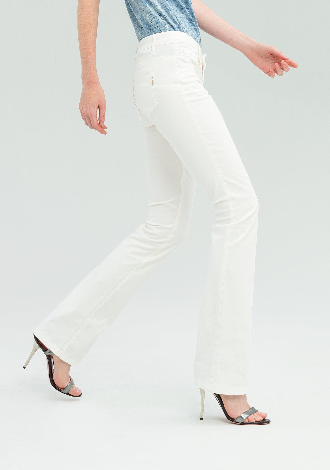 Pantalone bootcut a vita bassa FRACOMINA   Pantalone   FR20SPCPAMELA3108 CREAM