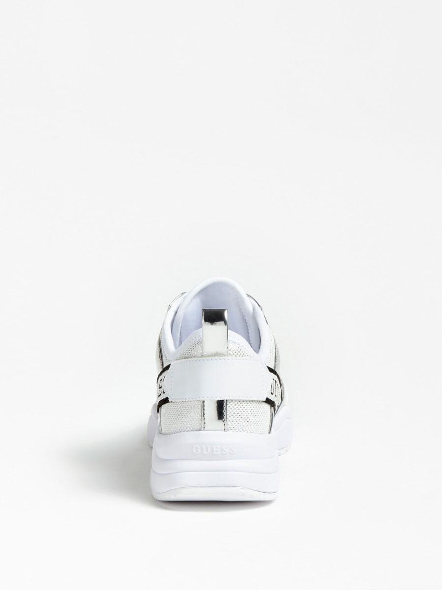 RUNNER BREETA INSERTI GUESS FOOTWEAR | Scarpe | FL5BRE FAM12SILVE