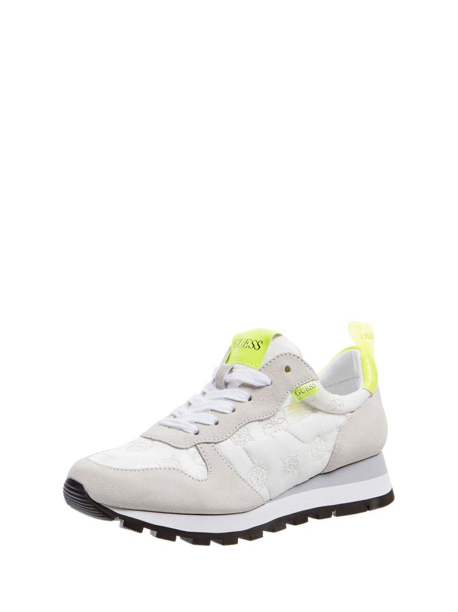 GUESS FOOTWEAR      FL6ARI FAL12WHITE