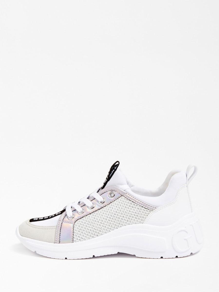 GUESS FOOTWEAR |  | FL6SPT FAB12WHITE
