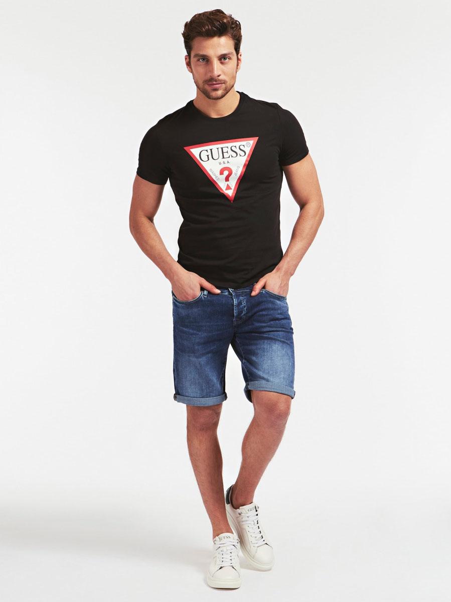 T-shirt Logo Triangolo GUESS | T-shirt | M0GI71 I3Z00JBLK