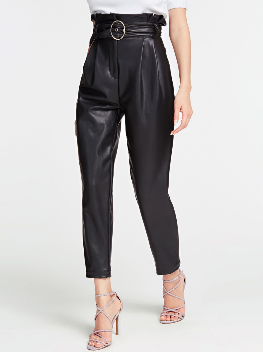 Pantalone Cintura GUESS | Pantalone | W01B58 WBG60JBLK
