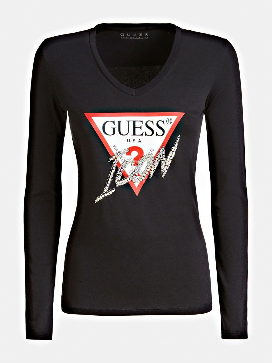 T-shirt Logo Icon GUESS | T-shirt | W01I0F J1300JBLK
