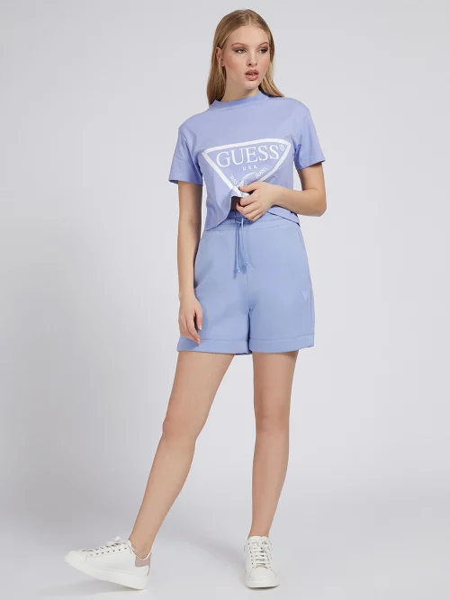T-SHIRT LOGO TRIANGOLARE GUESS ACTIWEAR | T-shirt | O1GA21 K8HM0G4Q3