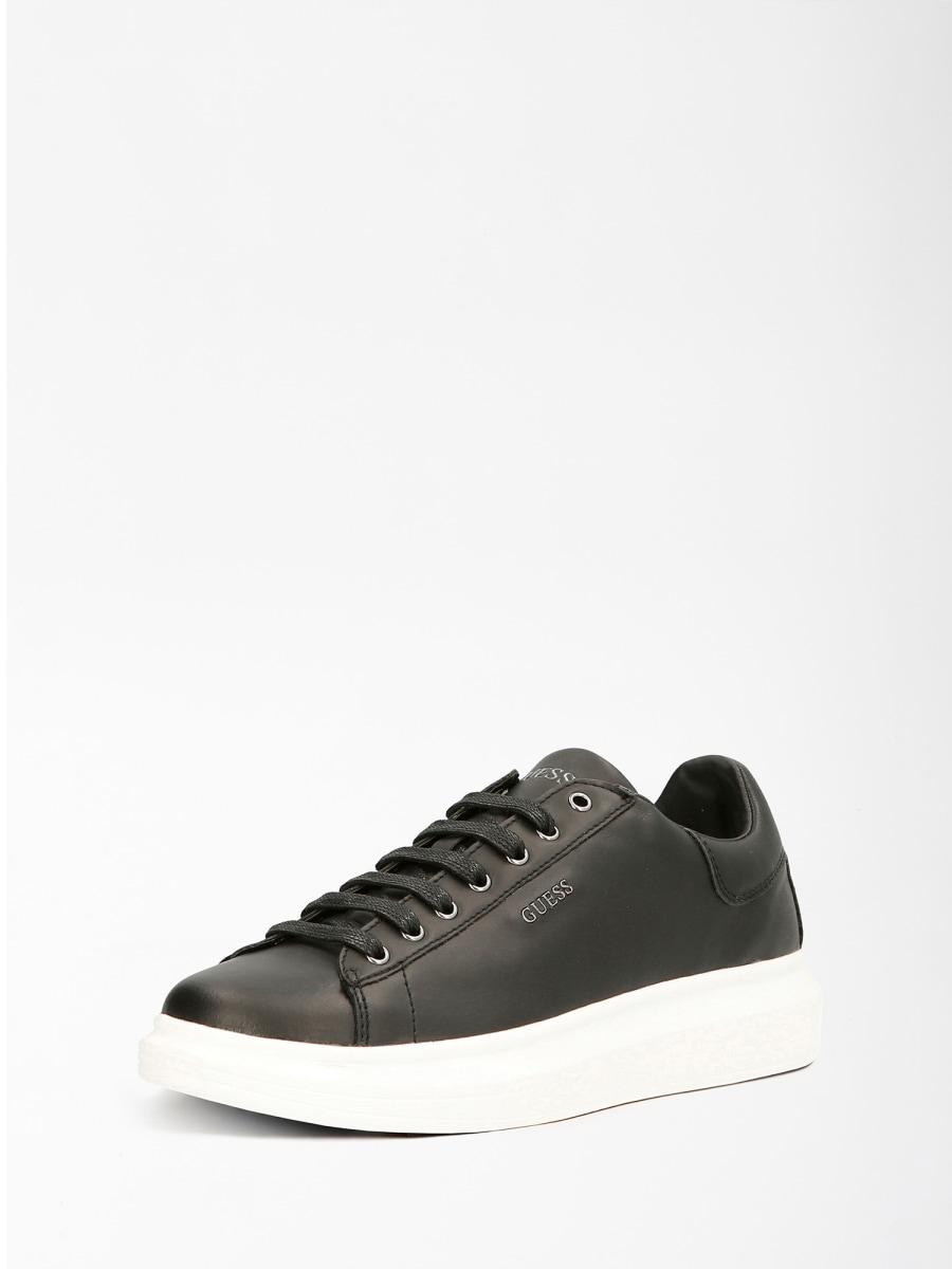 GUESS FOOTWEAR |  | FM5SLR LEA12BLKBL
