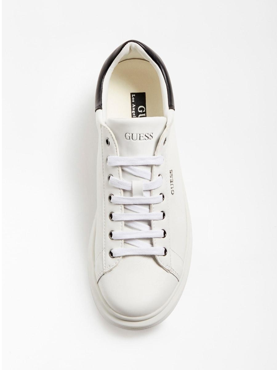 GUESS FOOTWEAR      FM5SLR LEA12WHBLK