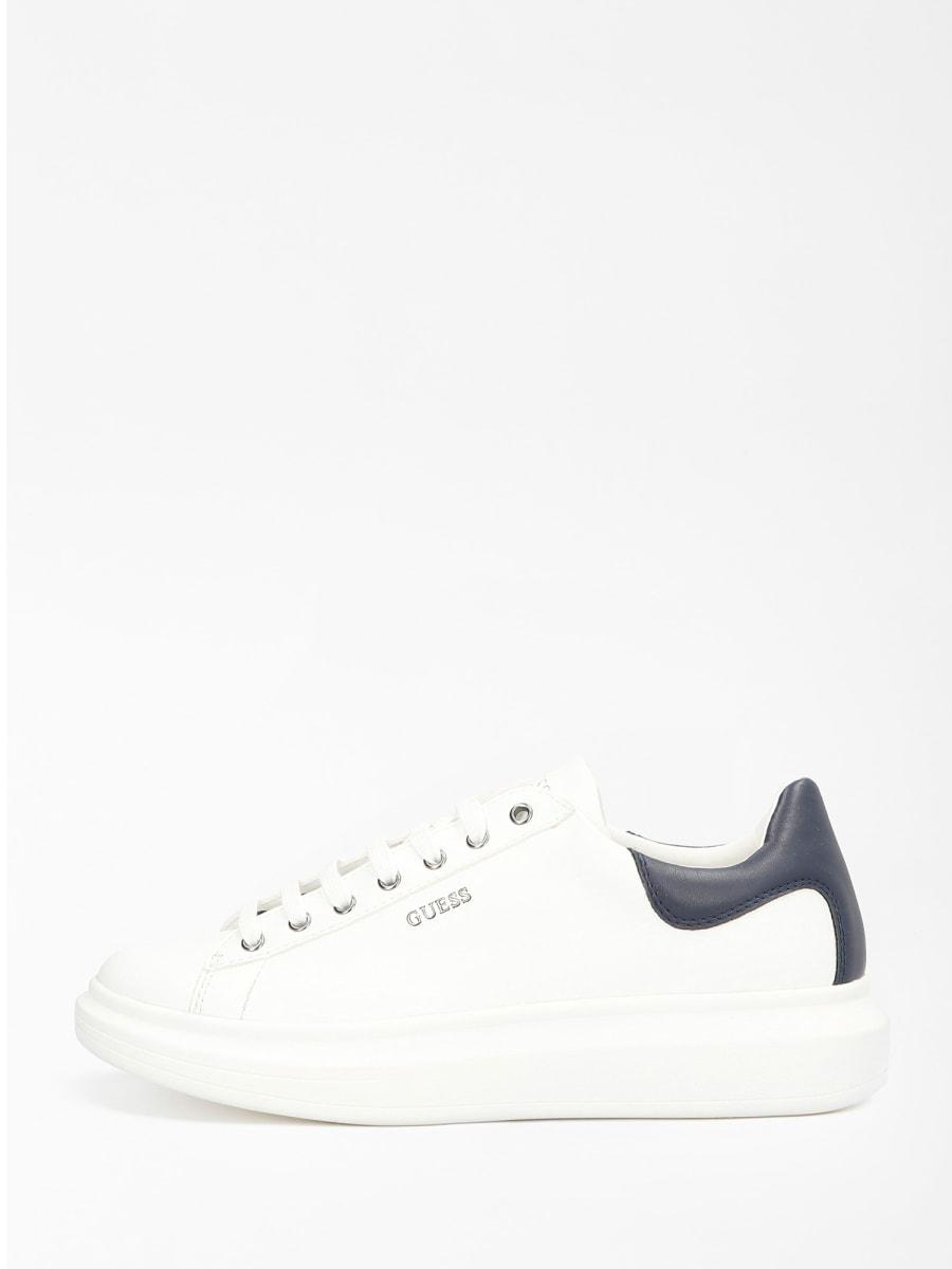 GUESS FOOTWEAR |  | FM5SLR LEA12WHBLU