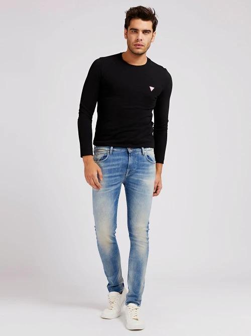 JEANS SUPER SKINNY GUESS | Jeans | M1GA27 D46AAFLO1