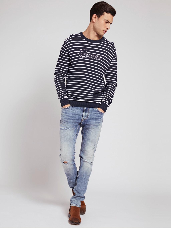 JEANS SKINNY ABRASIONI GUESS | Jeans | M1GAN1 D4B13BDW1