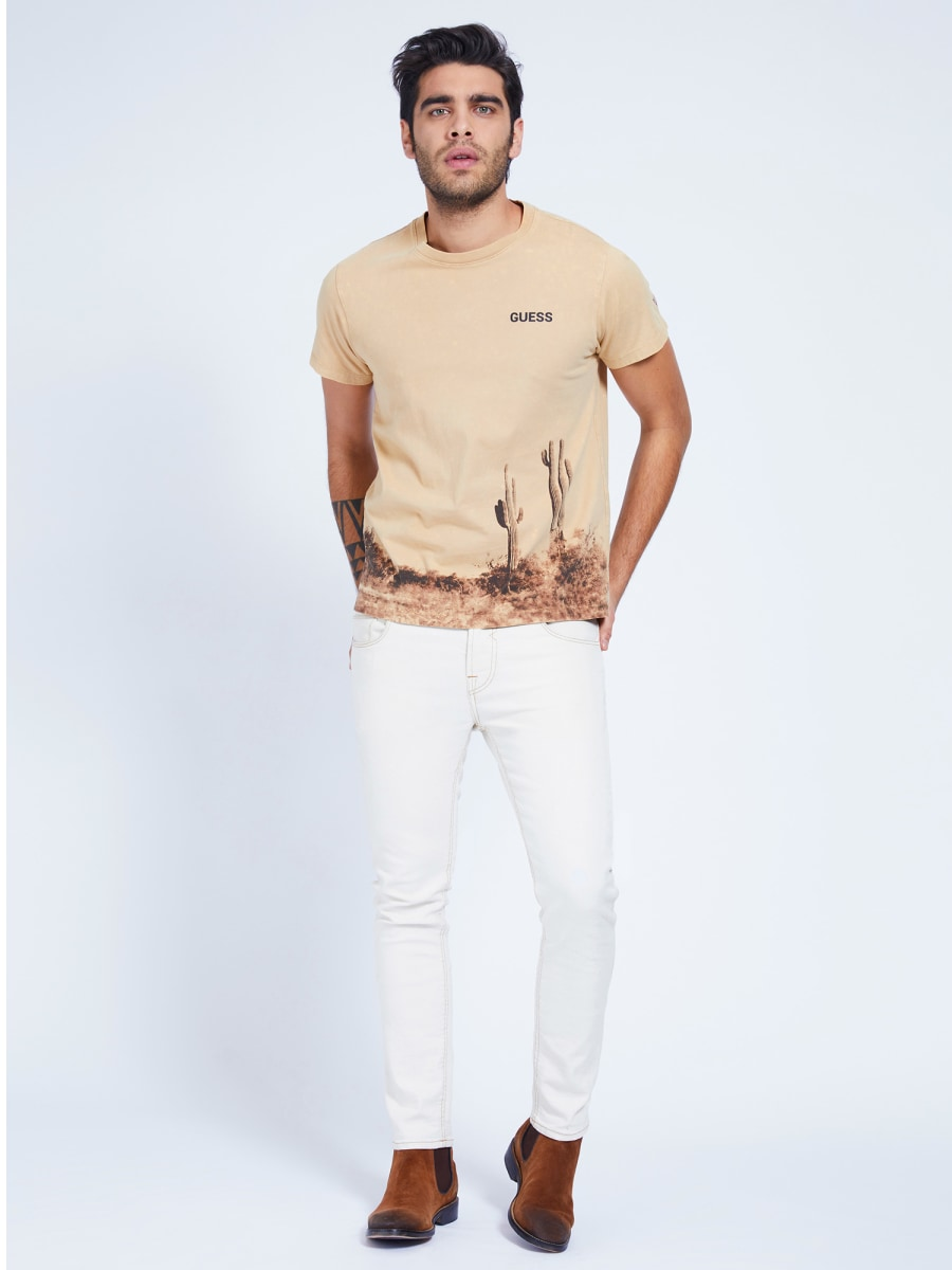 T-SHIRT STAMPA PIAZZATA GUESS | T-shirt | M1GI59 K8FQ1G1CS