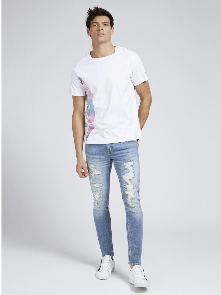 T-SHIRT LOGO GUESS | T-shirt | M1GI79 I3Z11TWHT