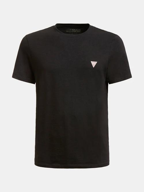 T-SHIRT TRIANGOLO LOGO GUESS   T-shirt   M1RI36 I3Z11JBLK