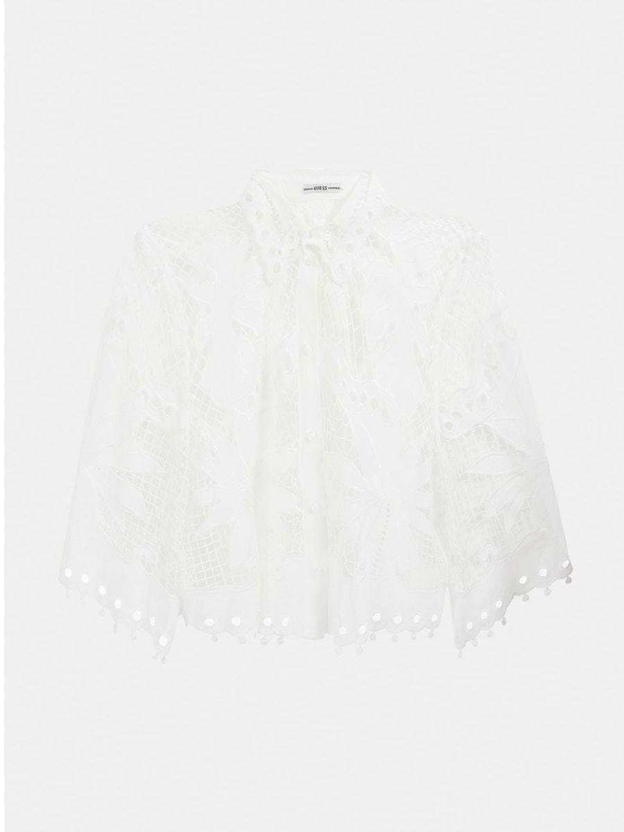 Camicia pizzo GUESS | Camicie | W1GH0D WDW20TWHT