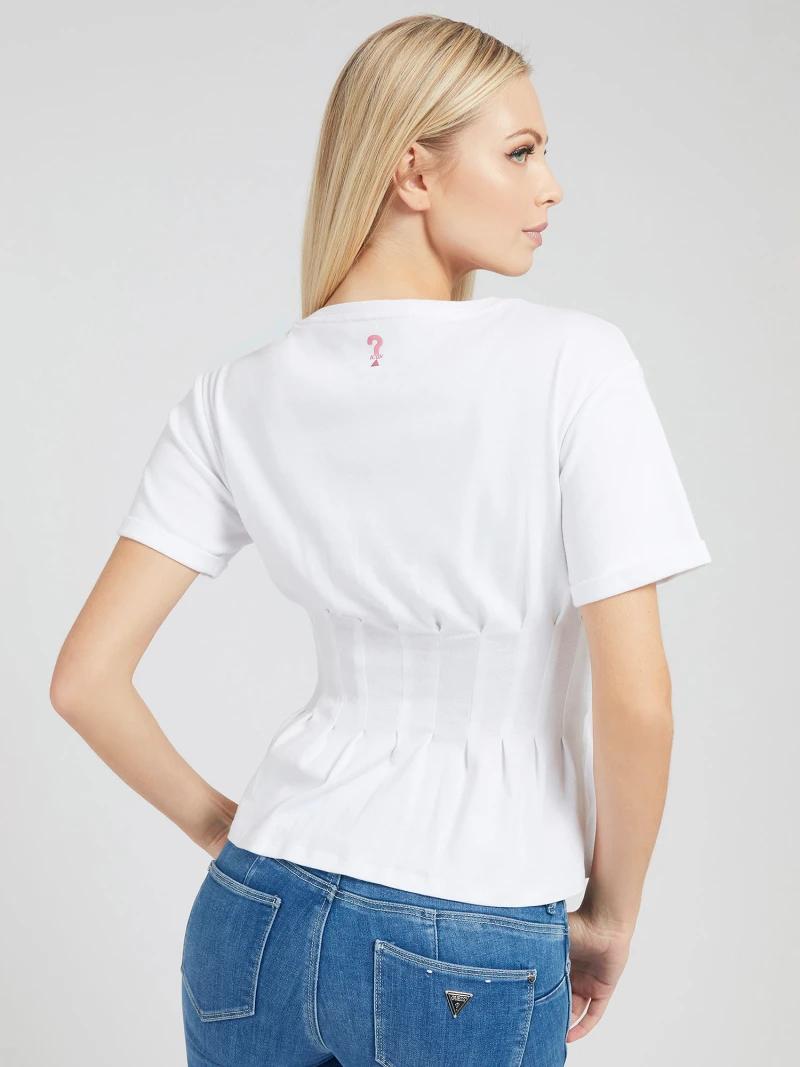 T-SHIRT LOGO FRONTALE RICAMO GUESS | T-shirt | W1GI83 K8HT1TWHT