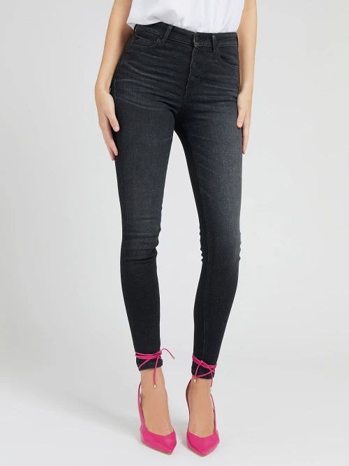 JEANS SKINNY PUSH UP GUESS   Jeans   W1RA28 D4AQ2WHA1