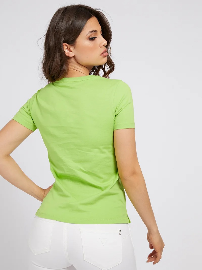 T-SHIRT LOGO ICON APPLICAZIONI GUESS | T-shirt | W1RI25 I3Z00G8BP