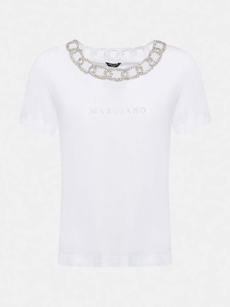T-SHIRT MARCIANO LOGO MARCIANO | T-shirt | 1GG606 K46D1TWHT