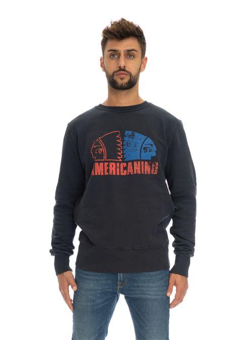 Felpa logo Americanino | Felpe | AMER051BLUE