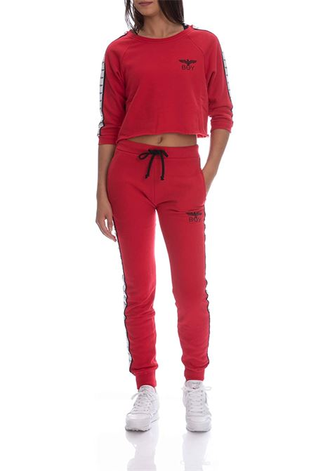 pantalone felpa BOY LONDON | Pantalone | BLD1579ROSSO