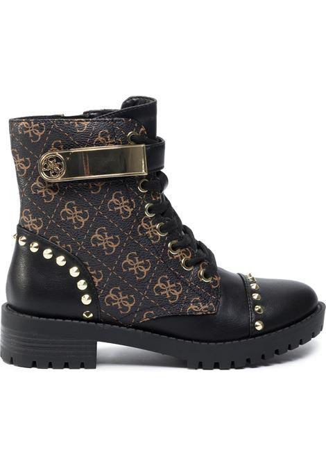 Stivaletto haleigha GUESS FOOTWEAR | Scarpe | FL8HHA FAL10BLKBR