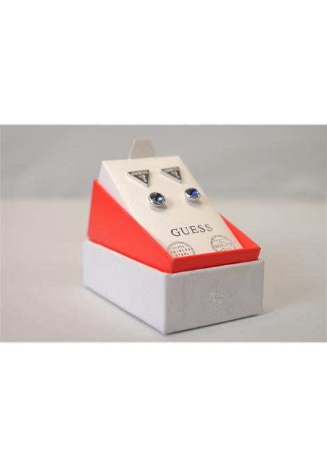 set orecchini punto luce bottoncino/triangolo GUESS JEWELRY | Accessori | JUBS29405TURCHESE