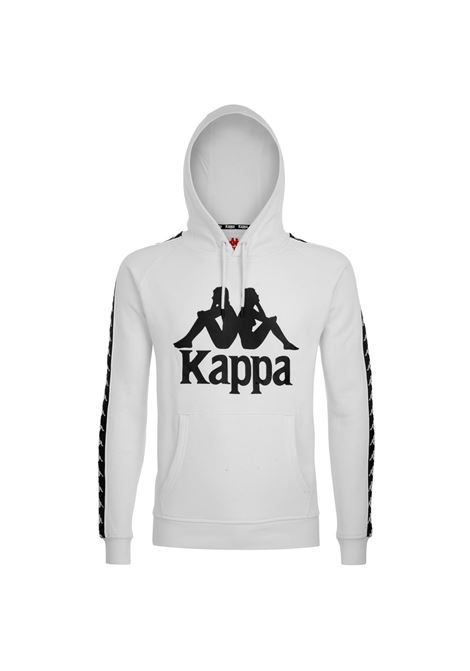 Felpa con cappuccio Kappa | Felpe | 303WH20A19 WHITE-BLACK
