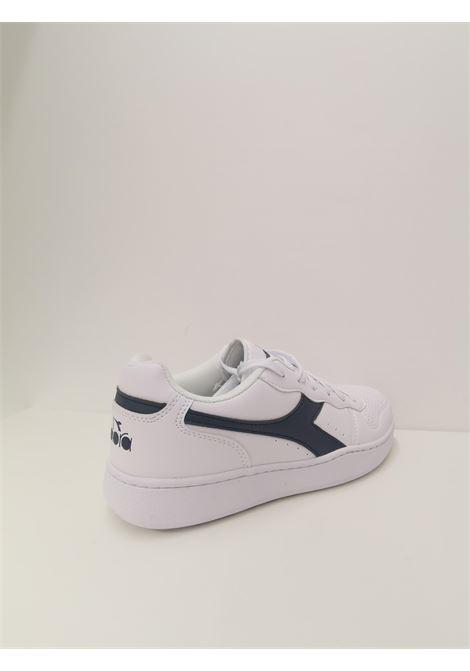 Sneaker playground DIADORA | Scarpe | 101.172319C8874 BIANCO/BLU TUAREG
