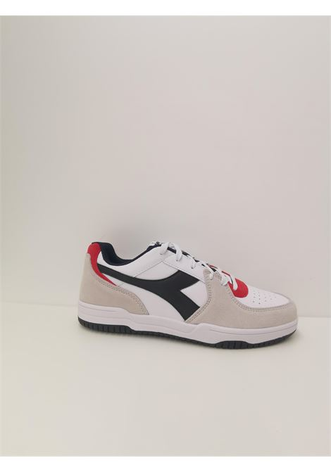 Sneaker raptor DIADORA | Scarpe | 101.177294C1494 BIANCO/BLU CORSARO