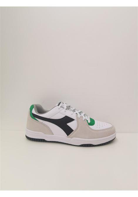 Sneaker raptor DIADORA | Scarpe | 101.177294C5908 BIANCO/GRIGIO PULVISCOLO