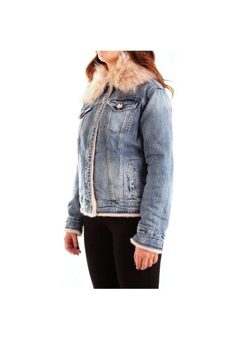Giubbino jeans FRACOMINA | Giubbino | F120W07003D00904277 VINTAGESTONE