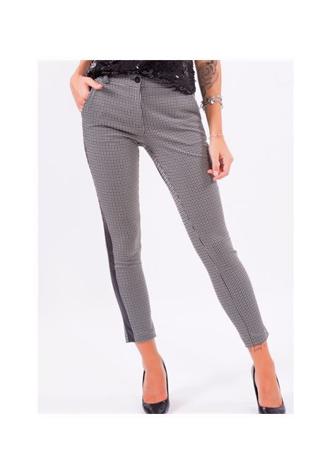 Pantalone chino FRACOMINA | Pantalone | F120W10073W060F6060 BLACKWHITE
