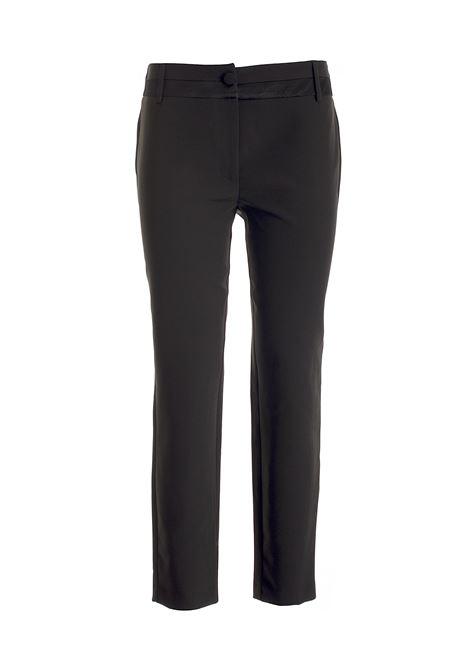 PANTALONI CHINO REGULAR IN TESSUTO STRETCH FRACOMINA | Pantalone | F120W10075W05301053 BLACK