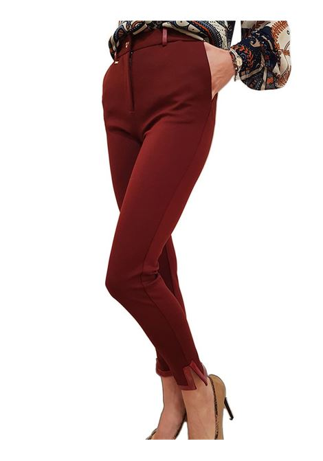 Pantalone chinos FRACOMINA | Pantalone | F220WP3001W18801H75 BURGUNDY