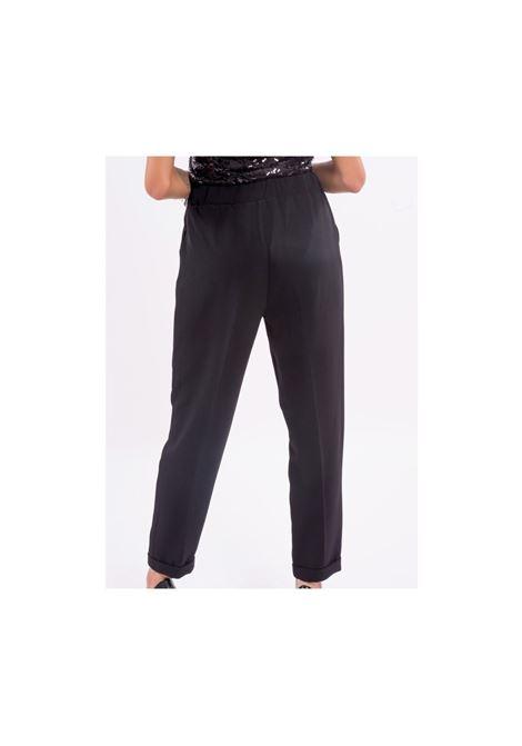 Pantalone sigaretta FRACOMINA | Pantalone | F220WP7001W09401053 BLACK