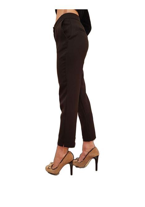 Pantalone chino FRACOMINA | Pantalone | F320WP3005W06501397 DARKBROWN