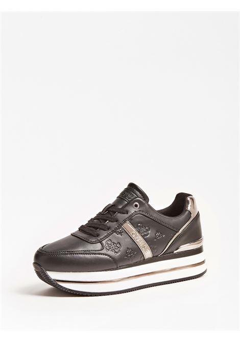 RUNNER DAFNE SIMIL PELLE GUESS FOOTWEAR | Scarpe | FL7DFE FAL12BLACK