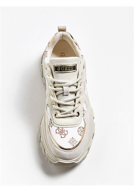 RUNNER BARYT 4G LOGO PEONY GUESS FOOTWEAR | Scarpe | FL8BRY FAL12WHITE