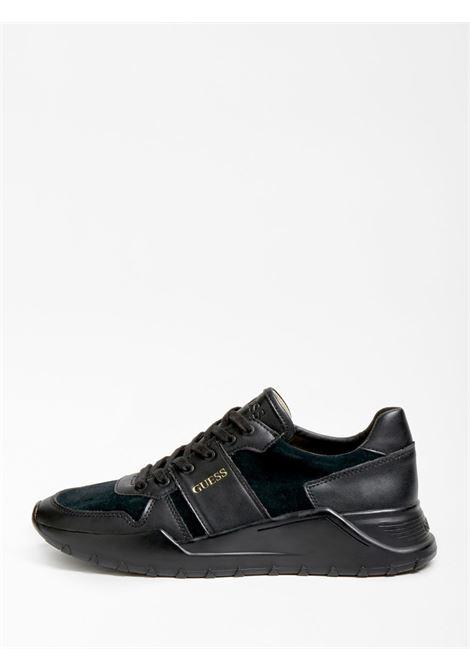RUNNER LUCCA VERA PELLE GUESS FOOTWEAR | Scarpe | FM8LCV SUE12BLACK