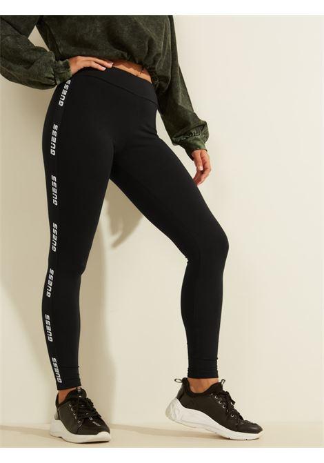 Leggings GUESS UNDERWEAR | Pantalone | O0BA02 KABR0JBLK