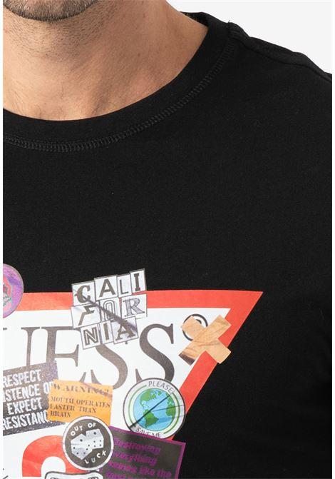 T-shirt logo GUESS | T-shirt | M0BI70 I3Z00JBLK