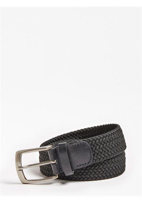 Cintura elastica GUESS | Cinture | M0YZ51 WD6C0JBLK